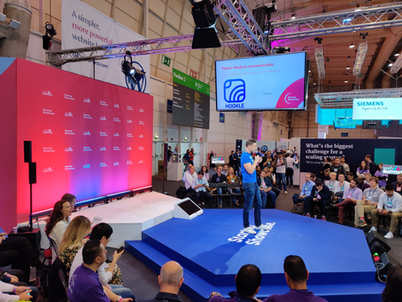 WebSummit Showcase, Portugal Nov 2019. On the picture CEO and Co-Founder of Hookle Inc, Tero Seppala