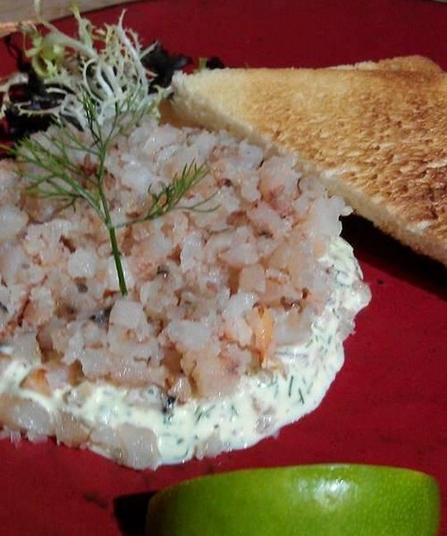蒔蘿蟹肉沙拉吐司