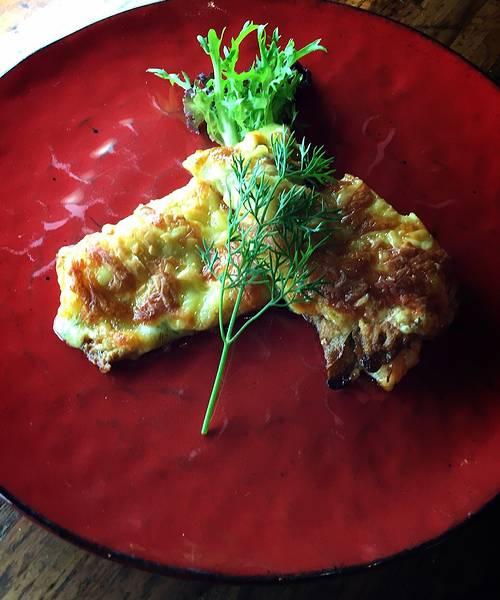 皇家鮮蝦焗烤薄餅
