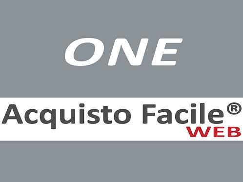 Acquisto Facile Web ONE - Silver