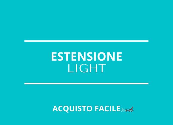 """Estensione Monoprodotto """"One"""" - Light"""