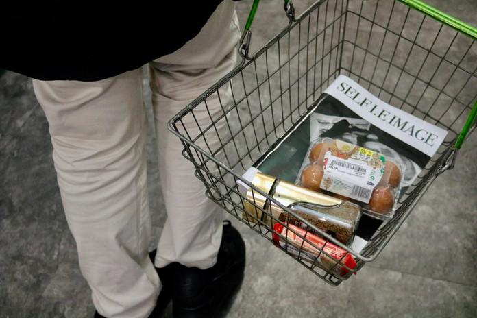 SELF I.E IMAGE MAGAZINE amongst shopping