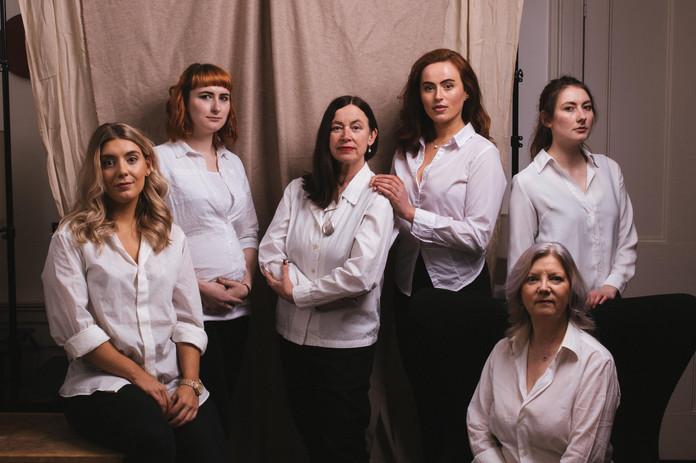 Arabella, Megan B, Louise, Rosalind, Megan S & Jane