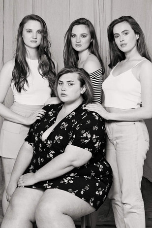 Megan, Ellen, Rosalind and Morgan