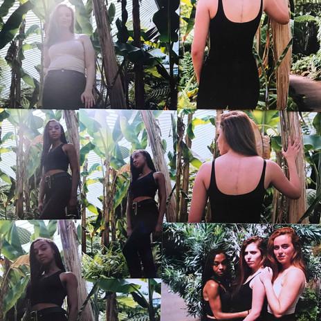 Emily, Beverley, Rosalind and Morgan