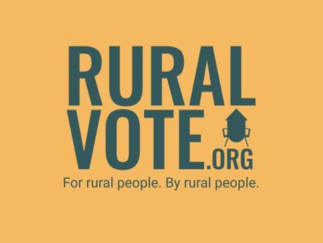 RuralOrganizing.org Launches RuralVote.org