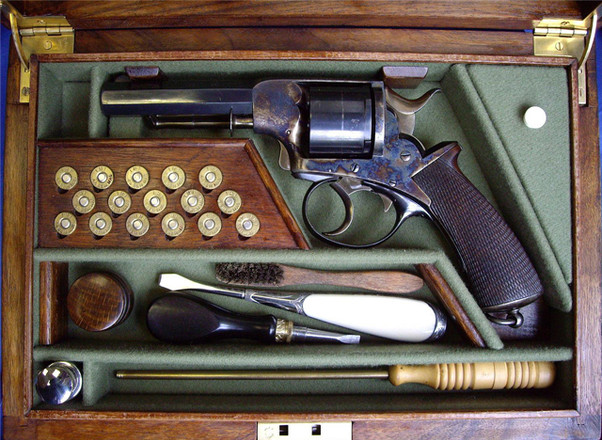 Coffret pour revolver Daw