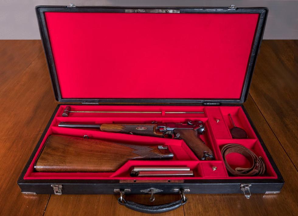 Coffret Luger 1902 - Cased Luger 1902