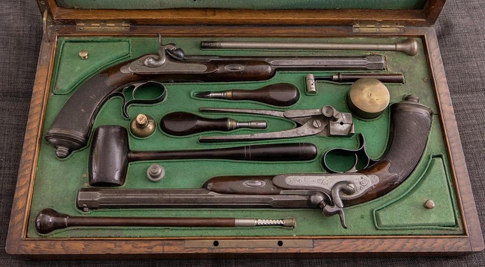 coffret sur mesure Charlotte Vial armes de collection