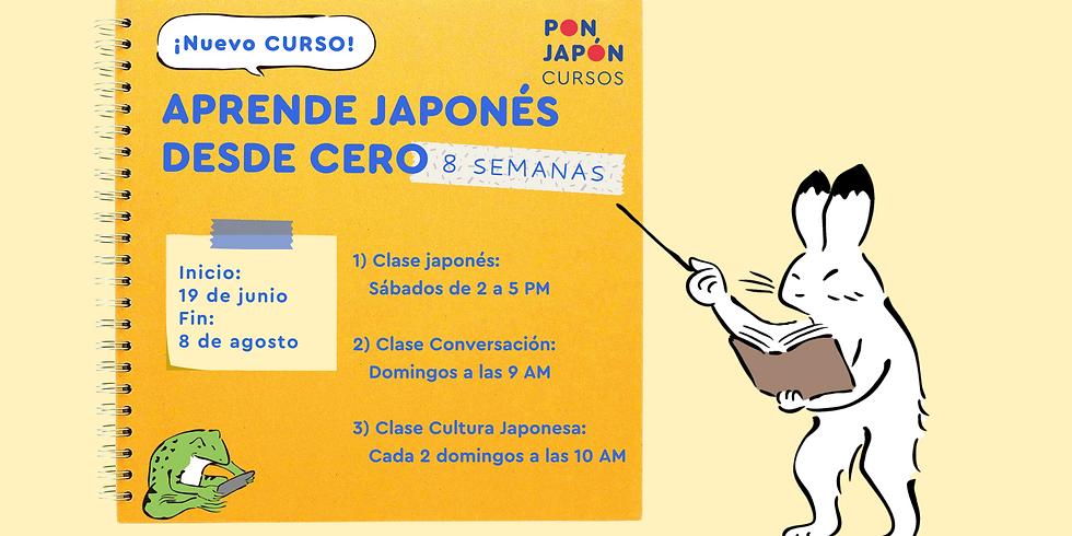 CURSO JAPONÉS DESDE CERO
