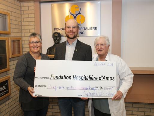 Une campagne de financement en milieu de travail au bénéfice de la Fondation