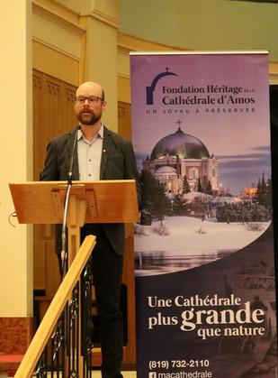 Pierre Deshaies, conseiller municipal.JP