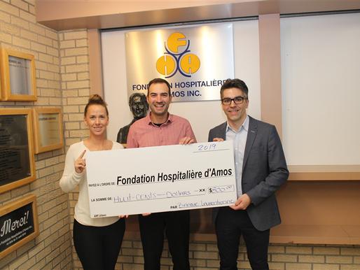 Banque Laurentienne appuie la Fondation Hospitalière d'Amos