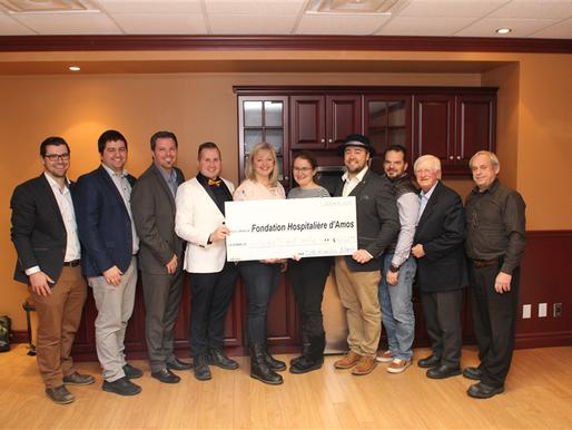 Le Club Richelieu remet 28 000 $ à la Fondation Hospitalière d'Amos