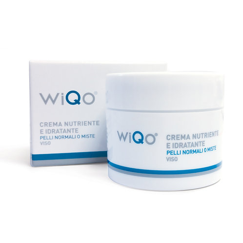 Crème hydratante peau normale & mixte WiQo®