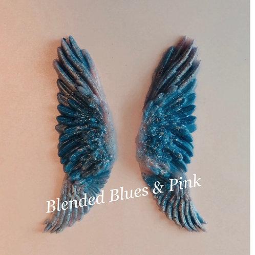 Serene Angel Wings-Framed