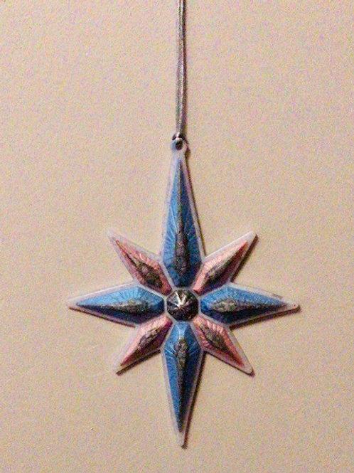 Blue & Pink Hanging Star