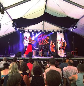 Night Tree headlining the Korro Musikfestival in Sweden, July 2018