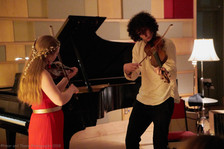 """Lily & Chris Overholser duo """"Wrench"""" April 2018"""
