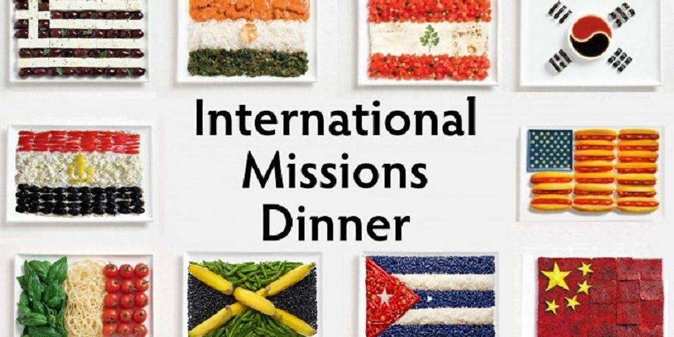 International Missions Dinner