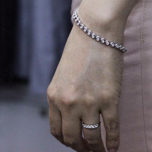 6 stone diamond ring