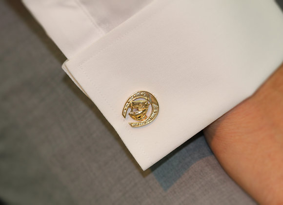 HORSE SHOES CUFFLINKS
