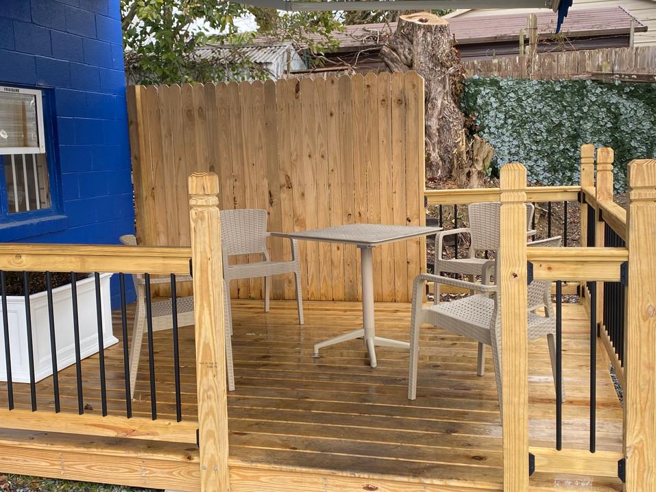 Yeargan's Outdoor Deck
