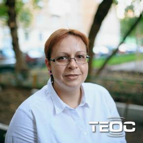 Светлана Качмар на Радио Теос