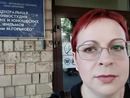 """Съёмки на телеканале """"Спас"""""""