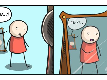 К психологу за отражением