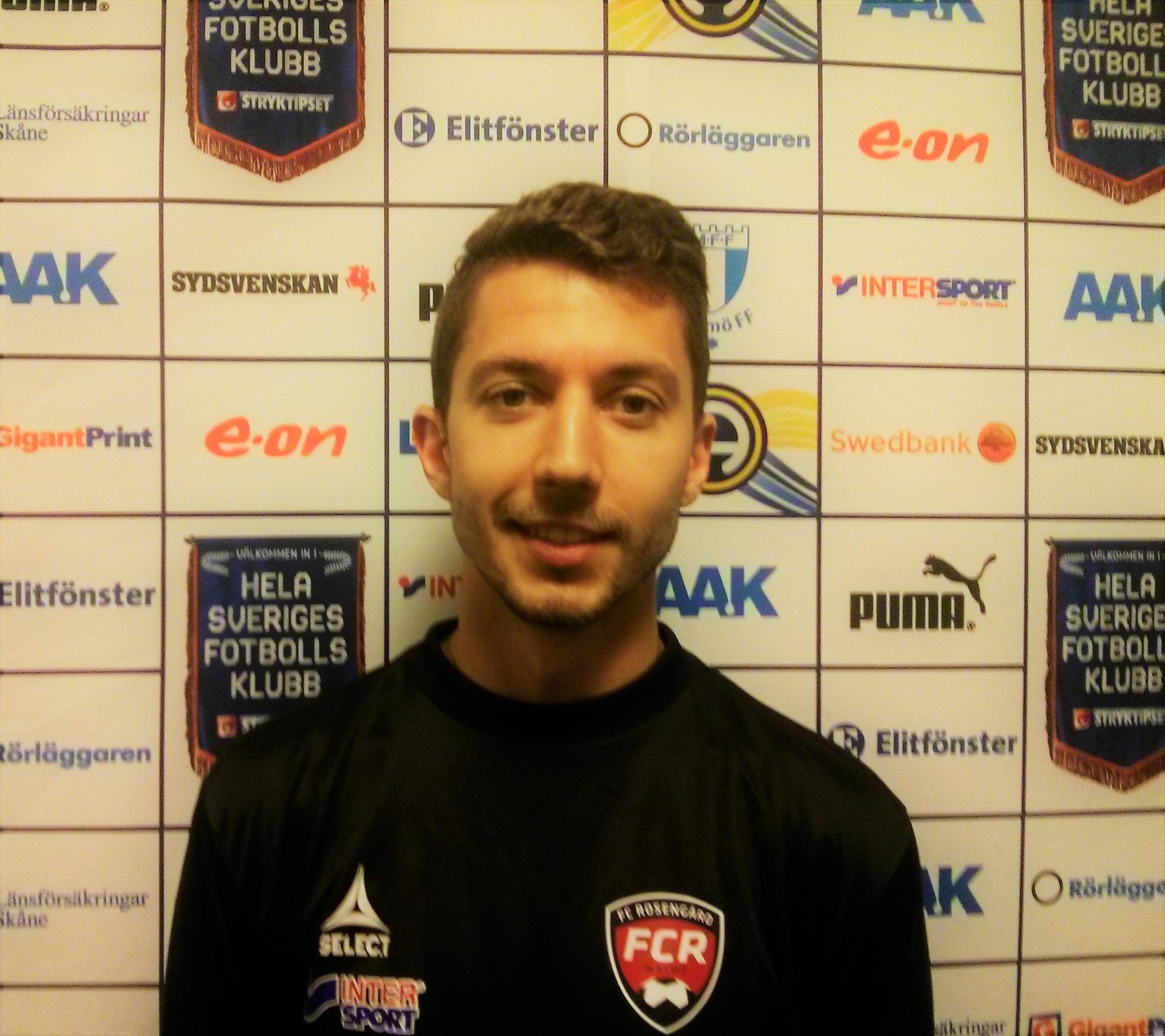Posing for FC Rosengard