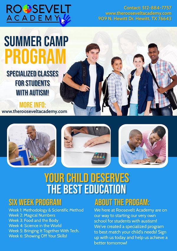 Roosevelt Academy Pilot Program Cover (4