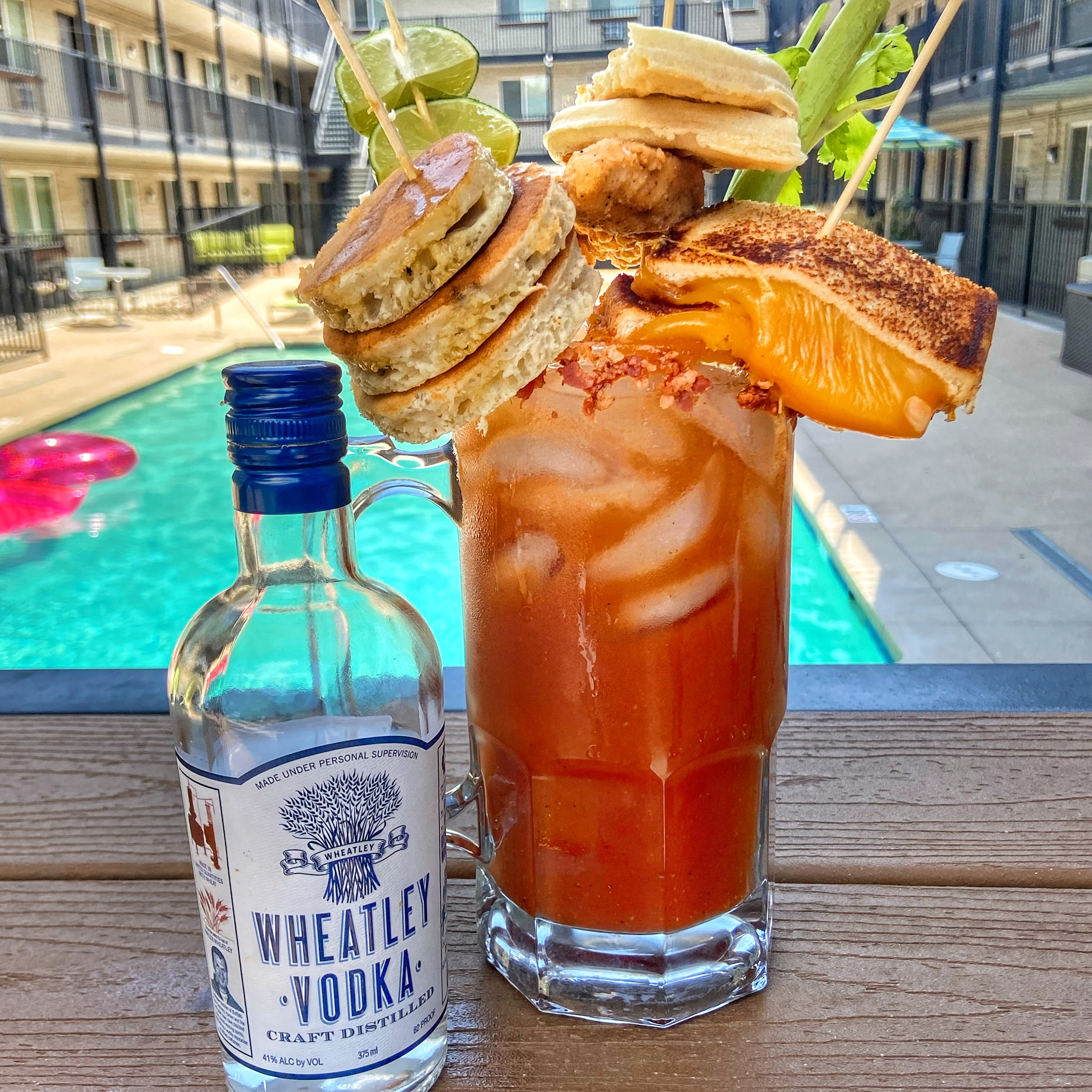 At-Home Brunch: This massive Bloody Mary made with Wheatley Vodka is everything you need this Summer