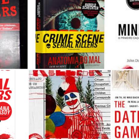 Lista: 14 livros de serial killers ou psicopatas que você vai amar