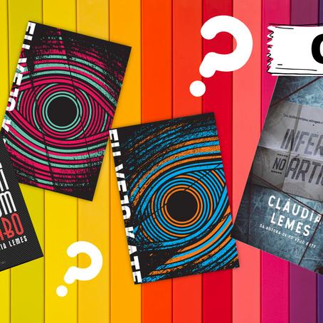 Teste seu conhecimento sobre os thrillers de Cláudia Lemes