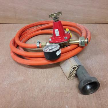 brander - slang - drukregelaar