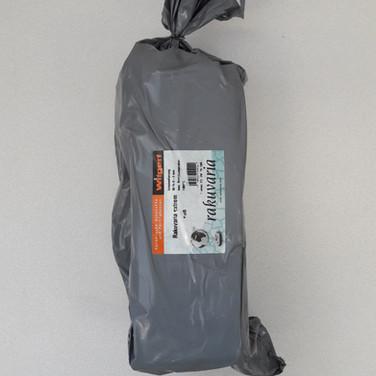 rakuvaria - 25%cham - 0-0.5mm - wit - 1300°C