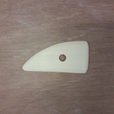 Lomer hout rond/rechte hoek