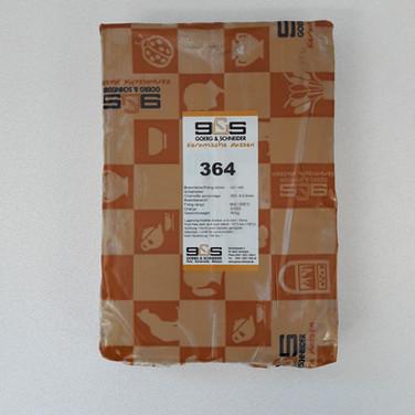 SG364 - 25%cham - 0.5mm - rood - 1200°C