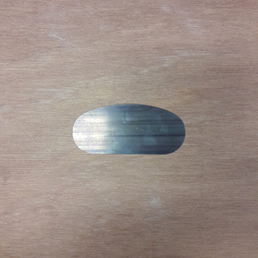 Lomer metaal - rond/recht M