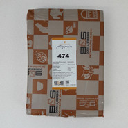 SG474 - 40%cham - 1mm - wit - 1280°C