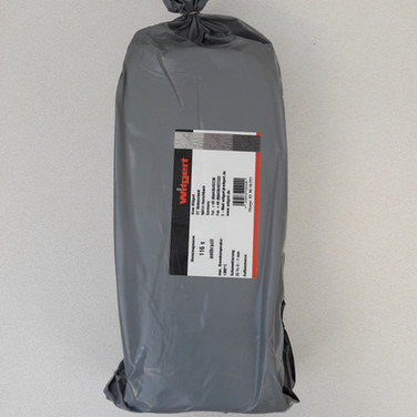 Witgert 116s -  25%cham - 0-1mm - antraciet - 1300°C