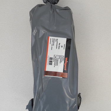 28 redstone - 25%cham - 0.5-2mm - roodbruin - 1250°C