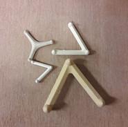 keramische steuntjes - driehoek