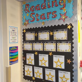 Reading Stars Display