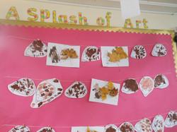 A splash of art