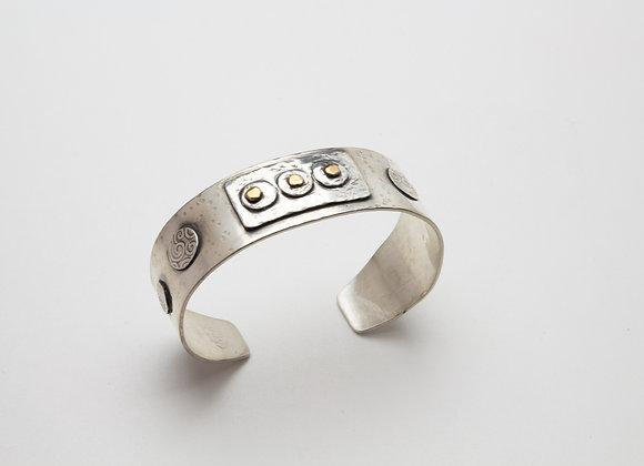 A Casual Rustic Type of Cuff Bracelet