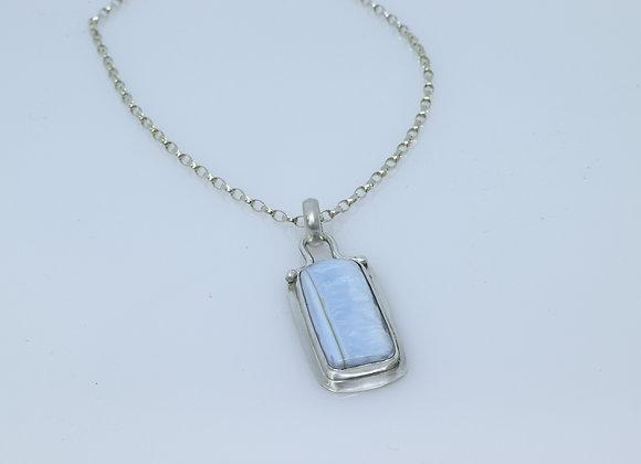 Peruvian Blue Opal Pendant