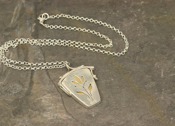 Two Sided Sterling Locket