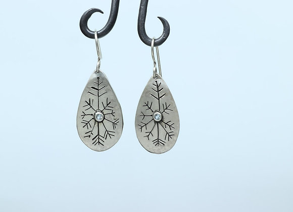 Snowflakes for Winter Earrings
